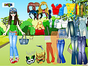 Click to Play Forest Dress Up