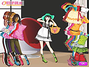 Click to Play Going out Dress Up