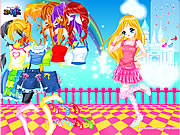 Click to Play Dancing Madeline Dress Up