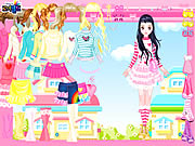 Click to Play Pink Hearts Dress Up