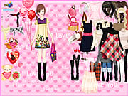 Click to Play Time to Love Dressup