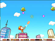 Click to Play UFO Shooting Girl