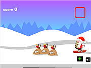 Click to Play Santa Snowboards
