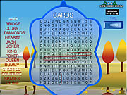 Click to Play Word Search Gameplay 4 - Cards