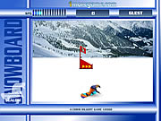 Click to Play Snowboard Slalom