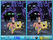 Click to Play Sponge Bob Spot The Difference
