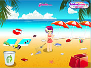 Click to Play Summer Beach Clean-Up