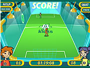 Click to Play SuperSpeed One on One Soccer