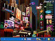 Click to Play Times Square By Night