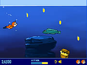 Click to Play Teddy Goes Swimming
