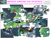 Click to Play Never Grow Up Puzzle