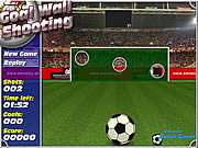 Click to Play Goal Wall Shooting