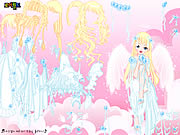 Click to Play White Angel Dress Up