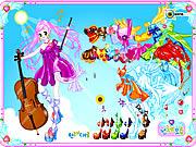 Click to Play Violin Dressup