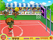 Click to Play Basketball-shotball