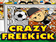Click to Play Crazy Freekick Game