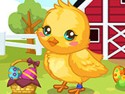Click to Play Easter Baby Chick Care