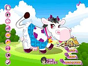 Click to Play Farm Cow Dressup