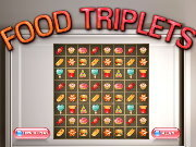 Click to Play Food Triplets