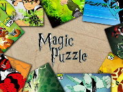 Click to Play Magic Puzzle - Ben 10