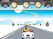 Click to Play Santa Car Race