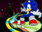 Click to Play Sonic Skate Glider