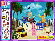 Click to Play The Backyardigans Adventure Maker