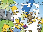 Click to Play The Simpsons Puzzle