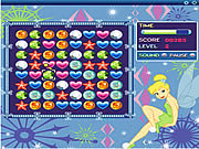 Click to Play Tinkerbell's Emerald Jewels